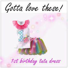 1st birthday tutu dress
