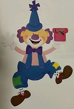 Fensterbild Tonkarton Fasching Karneval Kinderzimmer