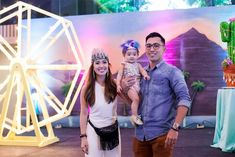 Ellie's Coachella Themed Party – Stage Background