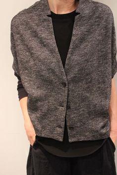 Petite veste gris chiné ab