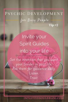 Inviting your Spirit Guides into your life is a great step…
