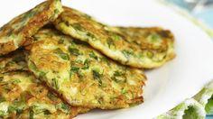 Heerlijke vegetarische groentepannenkoekjes!
