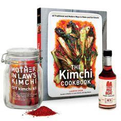 DIY Kimchi Kit & Cookbook /  Mother-in-Law's Kimchi