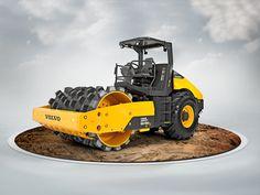 Volvo Construction Equipment #illustration
