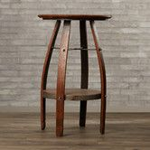 Found it at Wayfair - Butterfield Pub Table Wine Crate Table, Bar Table Sets, Metal Table Legs, Counter Height Dining Table, Chair Bench, Bistro Set, Cool Bars, How To Distress Wood, Table And Chairs