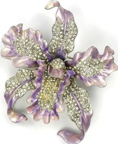 Orchid Brooch by Boucher.