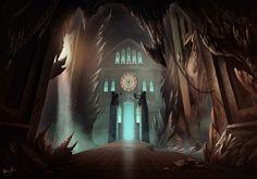 Ravenstein Dungeon by AnthonyAvon on DeviantArt