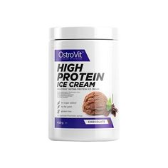 OstroVit High Protein Ice Cream Inghetata 400 g Protein Ice Cream, High Protein, Coconut Water, Gluten Free, Chocolate, Food, Glutenfree, Agua De Coco, Schokolade