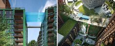 Le 'Sky Pool', vous vous sentirez comme vous êtes flottant sur Londres