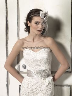 Belt 8558 Bridal Gown (2011) Designer Bridal Inspirations Justin A. Jasmine's Bridal Shop - Wedding Dress, Cocktail Dress, Bridal Accessories