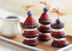 Driscoll's Blueberry-Strawberry Pancake Skewers. www.driscolls.com