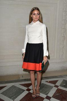 Olivia Palermo Photos: Front Row at Valentino july 8, 2014