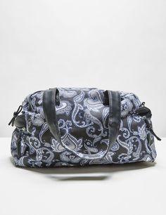 sac imprimé cachemire bleu marine et blanc… Bleu Marine Et Blanc, Motif  Cachemire, 24506915991