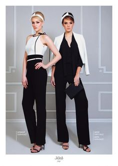 Black n white. Black N White, Ss 15, Jumpsuit, Collection, Dresses, Style, Fashion, Overalls, Vestidos