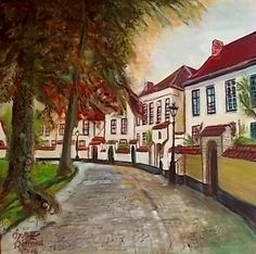 Het Begijnhof in Brugge.