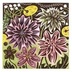 A limited edition wood engraving by Angie Lewin