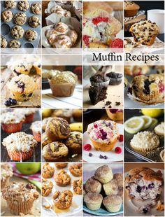 Muffin Recipes Round Up