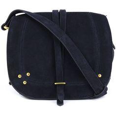 Jérôme Dreyfuss 'Victor' cross body bag (5.300 DKK) ❤ liked on Polyvore featuring bags, handbags, shoulder bags, blue, jerome dreyfuss handbags, suede handbags, jérôme dreyfuss, blue crossbody purse and blue handbags