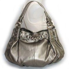 Large Slouchy Hobo Handbag (Pewter Gray-old) Hobo Handbags, Handbags Online, Handbags Michael Kors, Black Handbags, Michael Kors Bag, Beautiful Handbags, Beautiful Bags, Small Drawstring Bag, Yellow Handbag