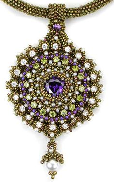 Milady's Brooch & Pendant Ornament ©2009 by Cynthia Rutledge. Interesting bit of fashion history written here, too.
