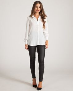 WYLDR EASY DOES IT WHITE BLOUSE available on shopfashtique.com