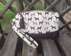 Excited to share the latest addition to my #etsy shop: Dog print, purse, wallet, clutch bag, dog lovers gift gift, wrist wallet, travel clutch bag, beige travel bag, brown vinyl #bagsandpurses #clutch #beigedogs #creambag #dogloversgift #dogsprint #cottonbag
