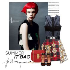 """Summer It Bag"" by lacas ❤ liked on Polyvore"