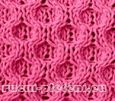 KLUBÍČKOV - pletení-vzory: Vzor č. 55