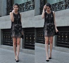 Get this look: http://lb.nu/look/2171567  More looks by Doina Ciobanu: http://lb.nu/doinaciobanu  Items in this look:  Amen Sequin Dress