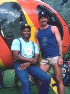 Magnum P.I. shorts...    i had such a crush on Tom Selleck....i didn't realize how the shorts looked..