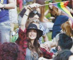 Δείτε το μήνυμα που έστειλε η Άννα Βίσση για το Athens Pride 2014! #greekmusic