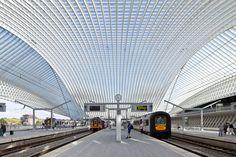 Santiago Calatrava, João Morgado · TGV Station Liege-Guillemins · Divisare