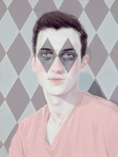 Kris Knight Diamond Eyes 2014 Oil on Canvas 24x18""