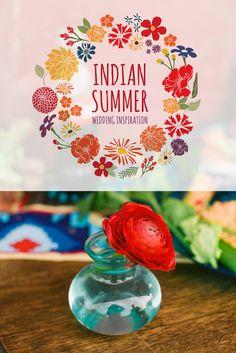 Indian Summer Wedding Feature