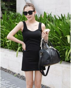 Click Instantly To Order!  Sexy Tight Fitting Dress  – One Size [ Jun11702NS ] ★Free Worldwide Shipping ★ - S$59.00