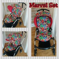 Bugaboo bee plus & bee 3 set made in marvel
