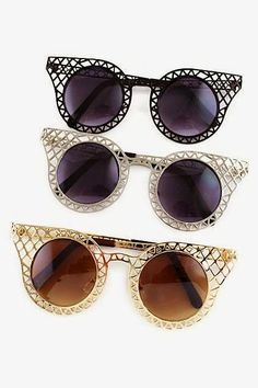 How to Chic: COOL SUNGLASSES
