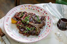 Pink Mamma, T-Bone steak et architecture - Kiss My Chef T Bone Steak, Resto Paris, Best Restaurants In Paris, Pizzeria, Bon Dessert, I Chef, Best Steak, Pork, Meat