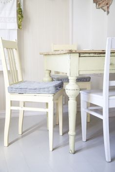 Restored Farmhouse Kitchen Table for sewing