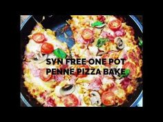 Syn Free One Pot Penne Pizza Bake - Basement Bakehouse Slimming World Pizza, Slimming World Dinners, Slimming World Recipes Syn Free, Slow Cooker Recipes, Cooking Recipes, Healthy Recipes, Sliming World, Sw Meals, I Love Pizza