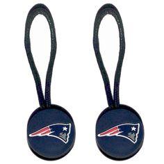 New England Patriots Zipper Pull (2-Pack)