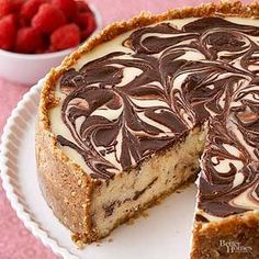 Achieve ultra-creamy cheesecake with this ultimate dessert recipe. The chocolate version makes it decadently delicious./