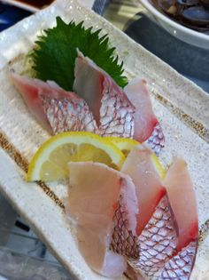 Sashimi...I wouldn't eat it, but looks good anyway