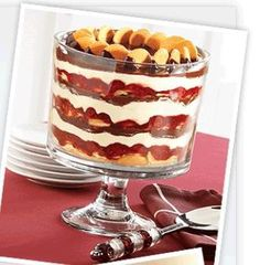 Trifle Bowl - excellent for amazing desserts, great salads, and beautiful decorations.  Click here to purchase your own! $40