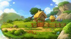 (Яаг иймэрхүү өнгтэй Монгол ахуйг зурвал гоё юм байна даа...) Naver Image Popup