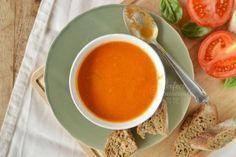 Romige tomatensoep met mascarpone