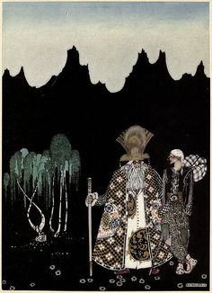 File:Kay Nielsen - East of the sun and west of the moon - the widows's son.jpg