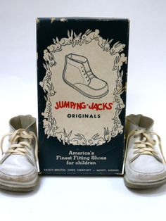 Vintage Jumping Jack Baby Shoes 19471965 by MidniteGalaxyVintage, $14.99