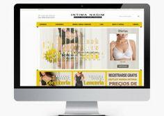Diseño tienda virtual, creadores de tiendas online. http://www.basicum.es/portfolio-item/diseno-web-intima-nadim/