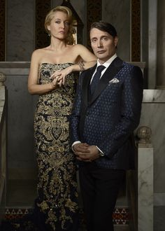 A toast to the happy couple. Mr. and Mrs. Hannibal Lecter return to nbctv tonight at 10/9c.